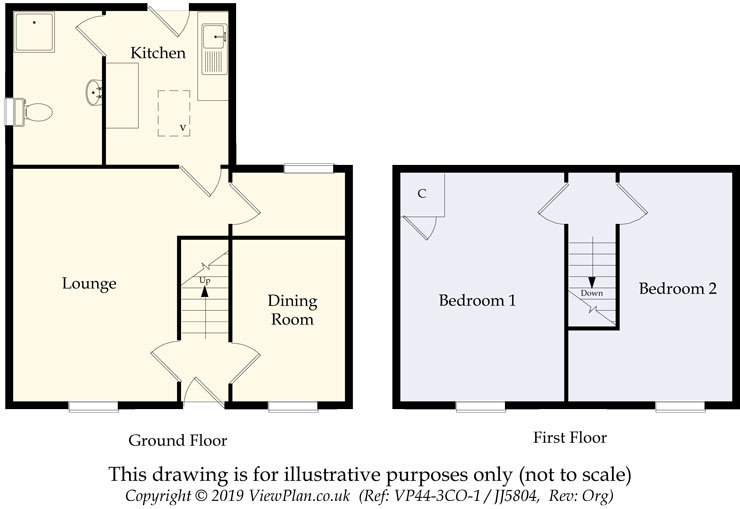 Floorplans For Penlocks, QUAKERS YARD, Treharris, CF46 5BH