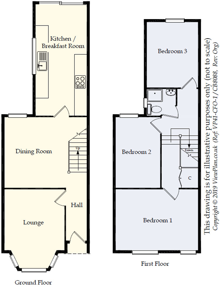 Floorplans For Inverness Place, Roath, Cardiff, CF24 4SB