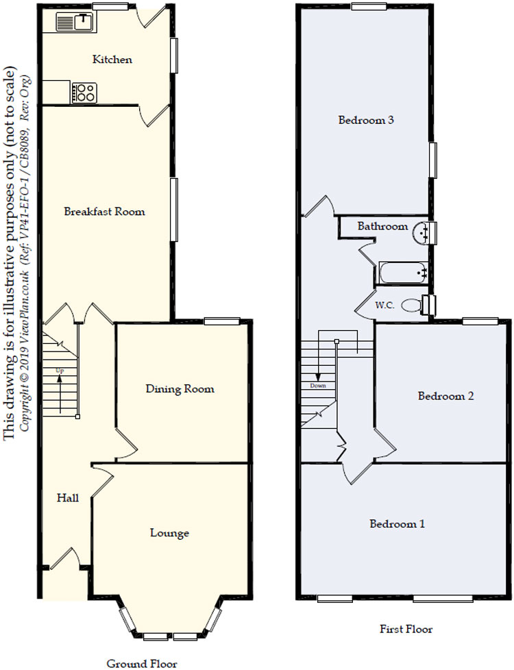 Floorplans For Richards Terrace, Cardiff, CF24 1RW