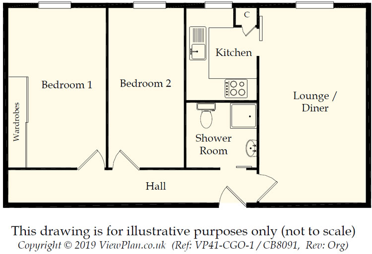 Floorplans For Stephenson Court, Wordsworth Avenue, Cardiff, CF24 3FX