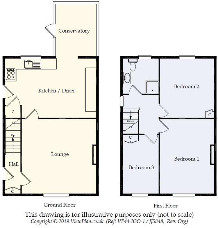 Floorplans For Brookland Close, Summerfield Hall Lane, Maesycwmmer, Hengoed, CF82 7RH