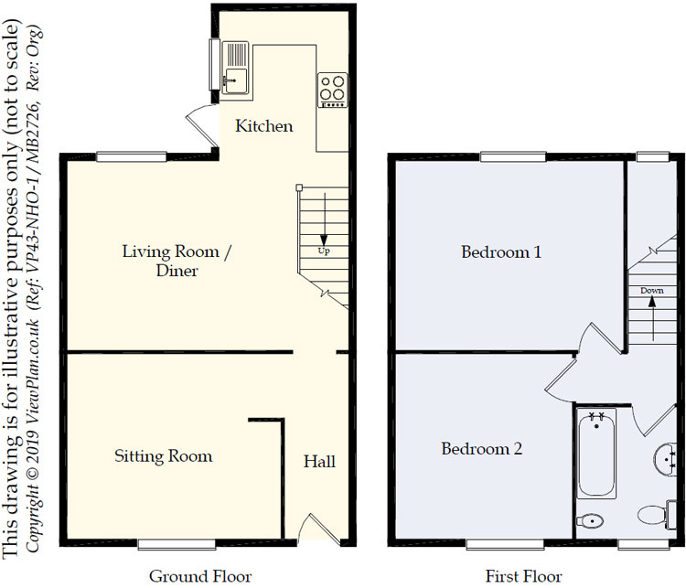 Floorplans For Highwalls Road, Dinas Powys, CF64 4AJ