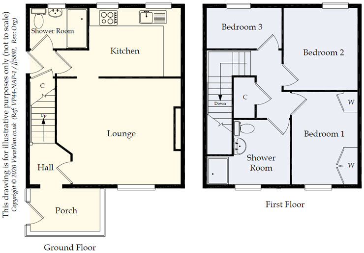 Floorplans For Vale View, Maesycwmmer, Hengoed, CF82 7PW