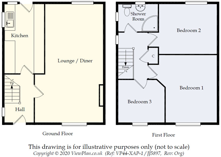 Floorplans For Aneurin Avenue, Fairview, Blackwood, NP12 3NX