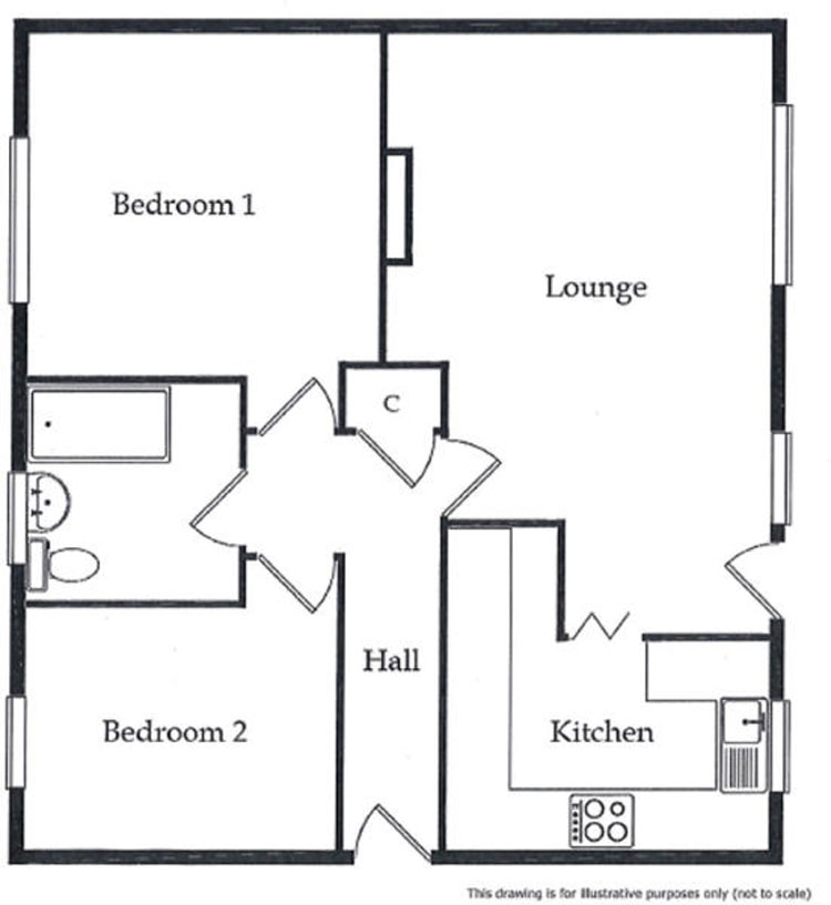 Floorplans For Britway Court, Britway Road, Dinas Powys, CF64 4AL
