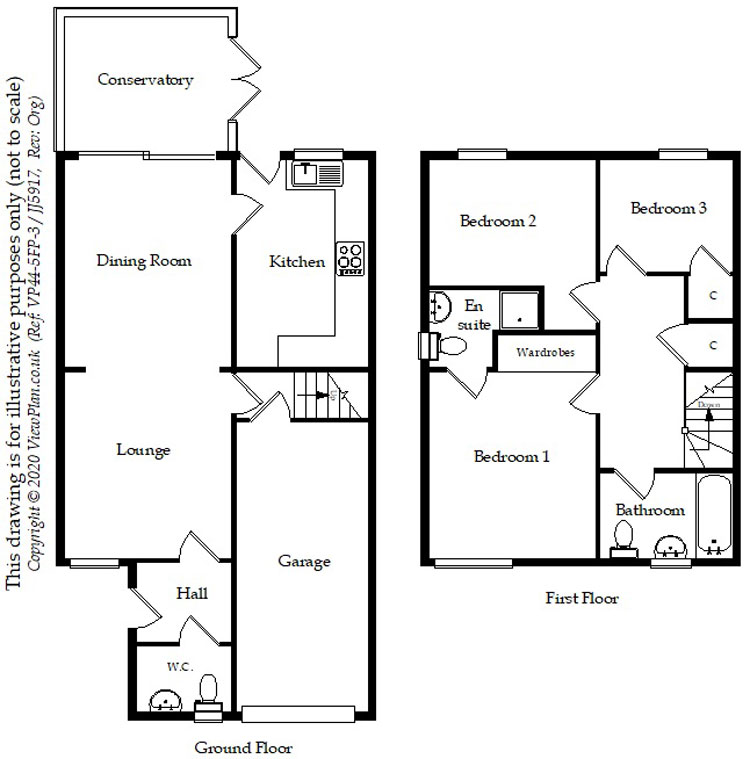 Floorplans For Pen Y Groes, Oakdale, Blackwood, NP12 0ER