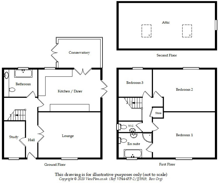 Floorplans For Aberbargoed, Bargoed, CF81 9EZ