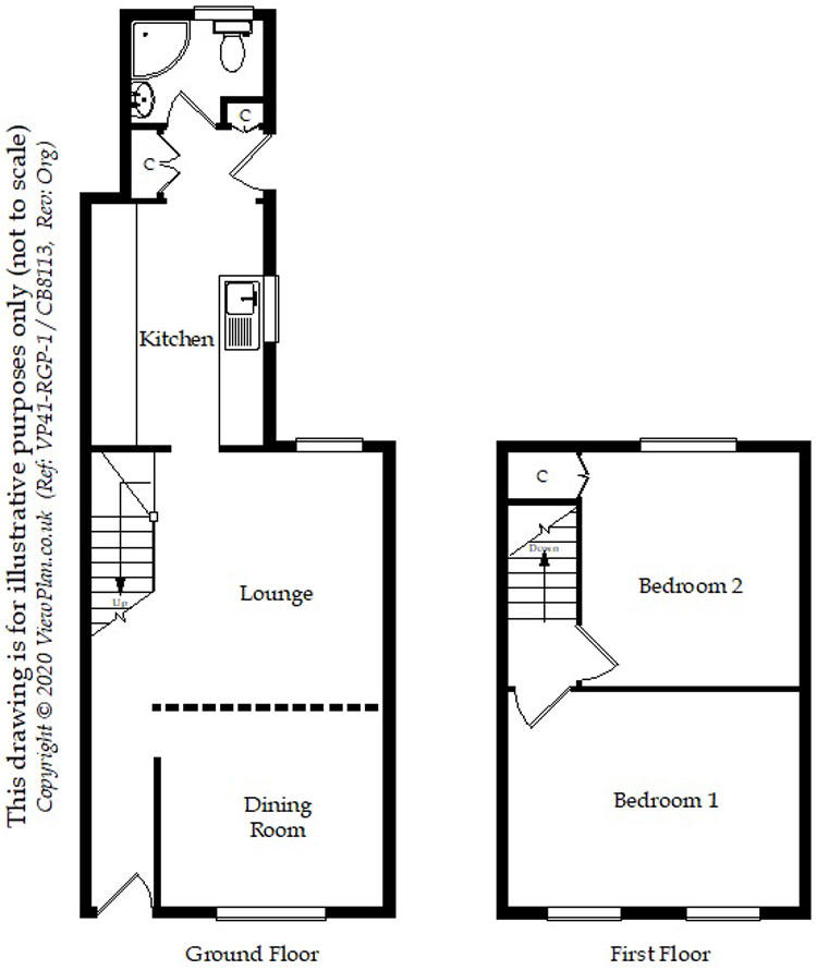 Floorplans For Keppoch Street, Roath, Cardiff, CF24 3JU