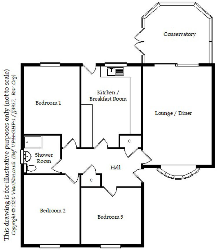 Floorplans For The Oaks, Quakers Yard, Treharris, CF46 5HQ