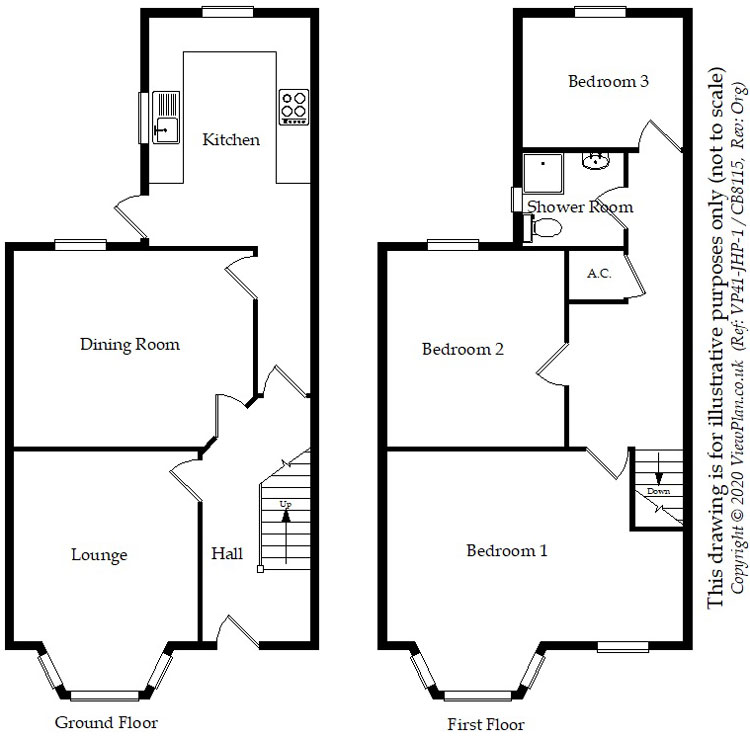 Floorplans For Clodien Avenue, Cardiff, CF14 3NL