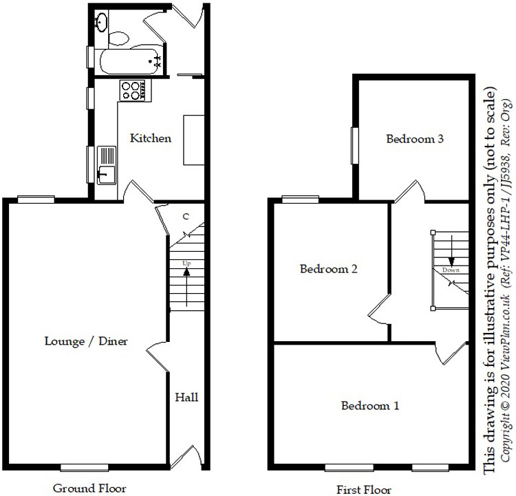 Floorplans For Jenkin Street, Maesycwmmer, Hengoed, CF82 7QH
