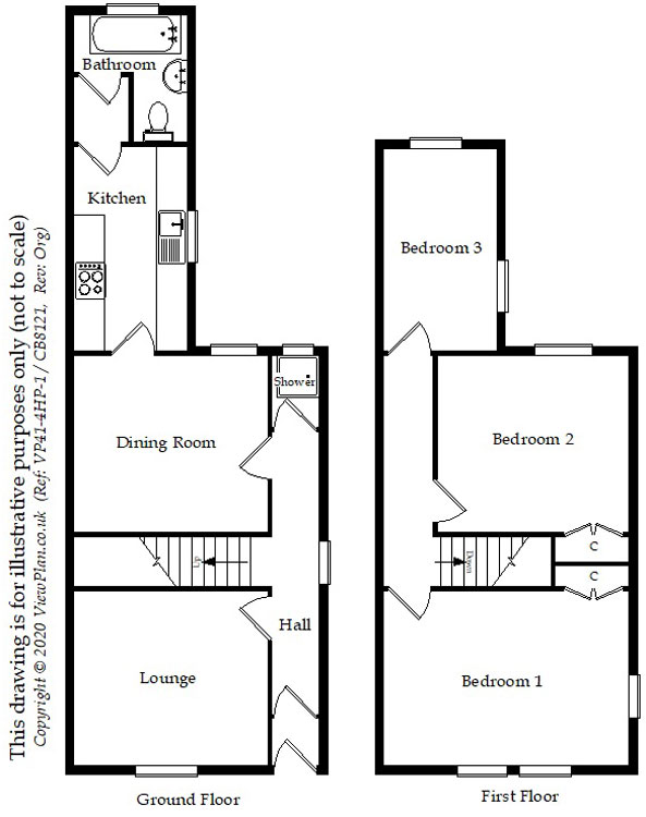 Floorplans For Croft Street, Cardiff, CF24 3DZ