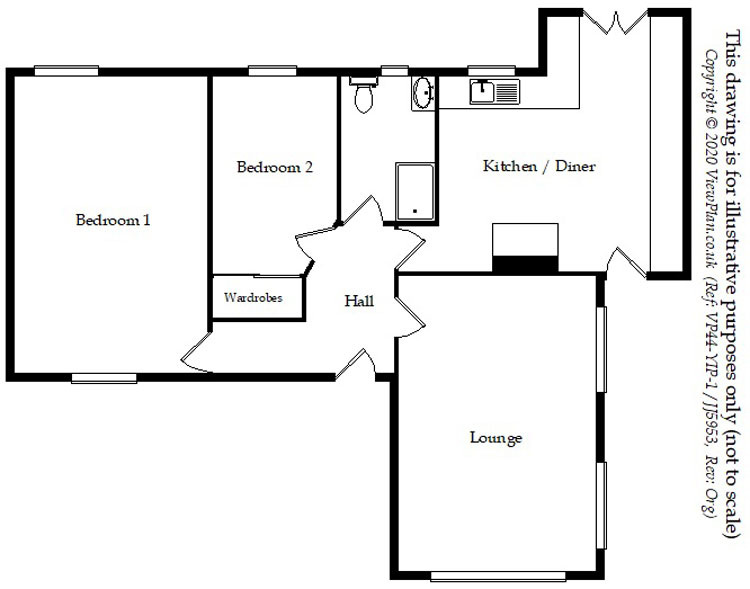 Floorplans For Quakers Yard, Treharris, CF46 5DH