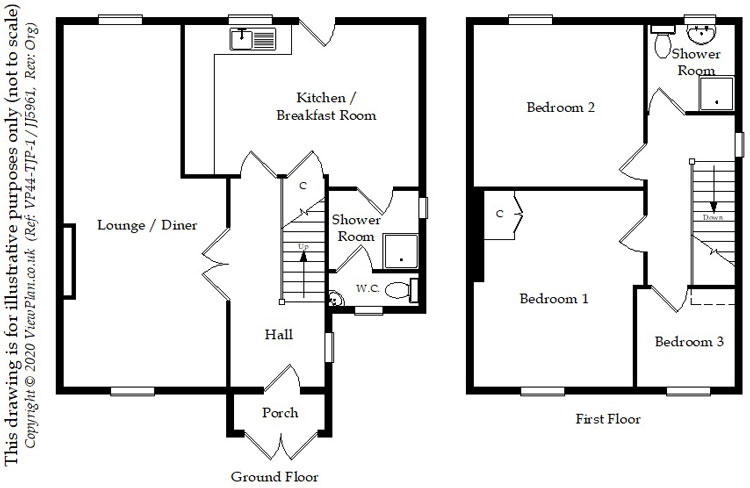 Floorplans For Caerphilly Road, Nelson, Treharris, CF46 6NH