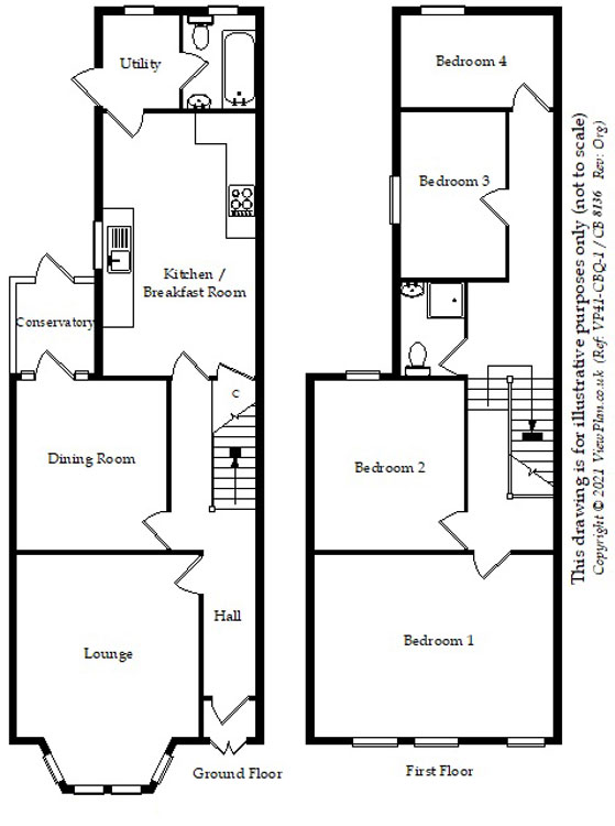 Floorplans For Gileston Road, PONTCANNA, Cardiff, CF11 9JS