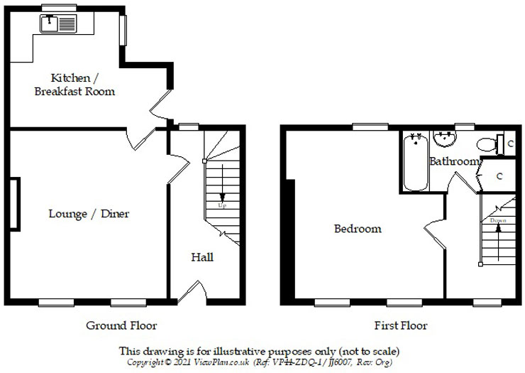 Floorplans For High Street, Bedlinog, Treharris, CF46 6RP