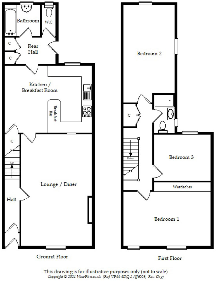 Floorplans For Cardiff Road, Glan Y Nant, Blackwood, NP12 3XE