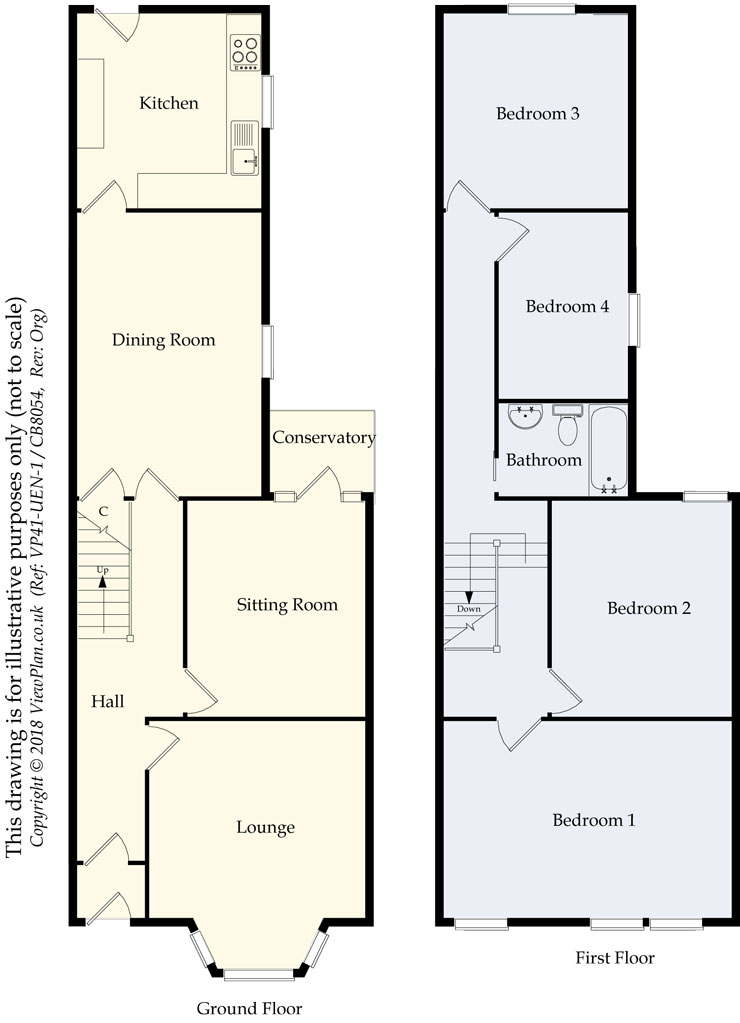 Floorplans For Carlisle Street, Cardiff, CF24 2PH